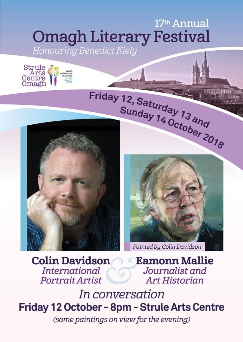 Omagh Literary Festival, Colin Davidosn